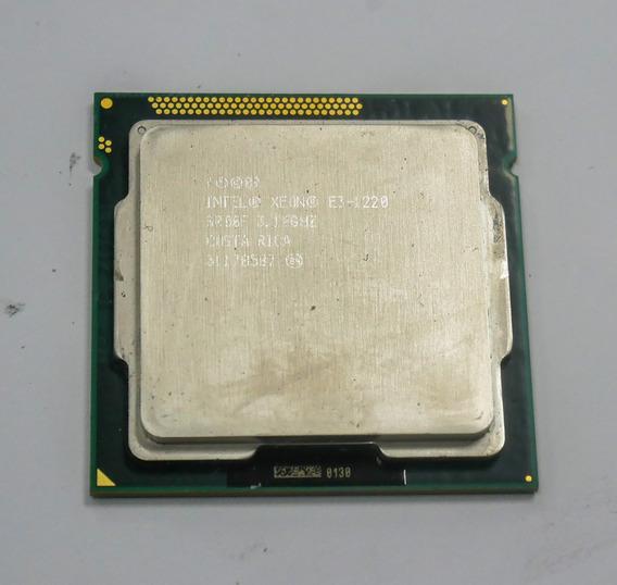 Processador Intel Xeon E3-1220 3.10 Ghz 8mb Cache Lga 1155