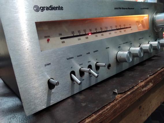 Receiver Gradiente Str850 Amplificador Raridade Vintage