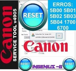 Reset Canon G2100 Todos Los Modelos St5105 (para 1 Pc)