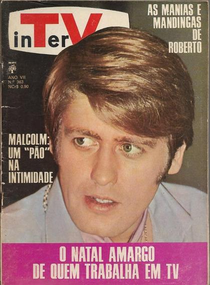 Revista-tv Intervalo 363-roberto Carlos,silvio Santos,elis