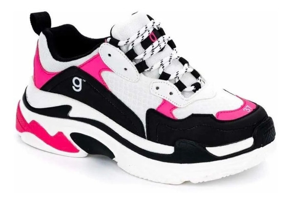 Zapatillas Zapatos Mujer Estilo Balenciaga #384