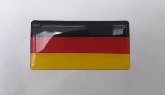 Bandeira Alemanha Resinada Linha Premium Volkswagen