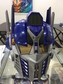 Máscara Capacete Optimus Prime - Voice Change