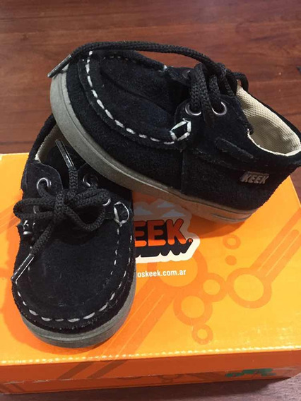 Zapato Náutico Gamuza Niño Talle 19 Ideal Bautismo