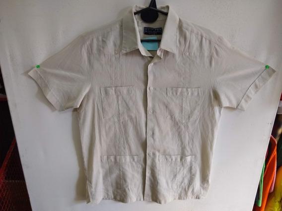 Camisa Camisaco Guayabera Bolsillos N 686