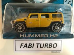 Hot Wheels Whips - Hummer H2 Amarelo West Coast Customs