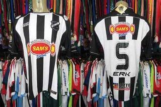 Abc 2009 Camisa Titular Tamanho G Número 5.