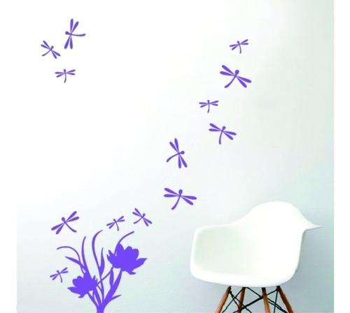 Vinilo Decorativo Infantil Libelula Plancha 40x30cm