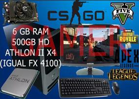 Pc Gamer Completo Placa De Video Lol Gta V Cs Go 6gb Ram Ff