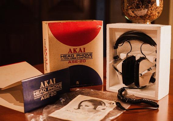 Fone De Ouvido Akai Ase-20 Edição De Colecionador