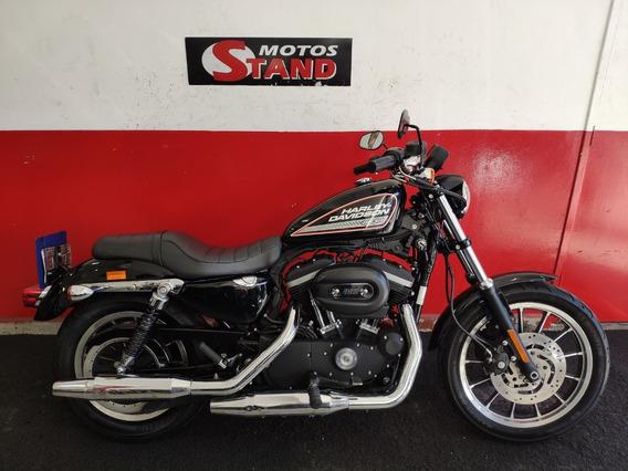 Harley Davidson Sportster Xl 883 R 883r 2013 Preta Preto