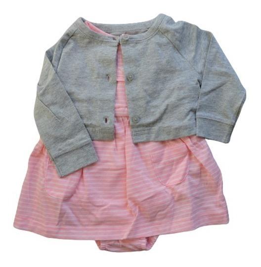 Vestido/ Vestidito Con Saco Carters Nena Bebe Algodón Nuevos