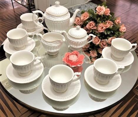 Jogo 15 Peças Cha Accessories Boutique Porcelain
