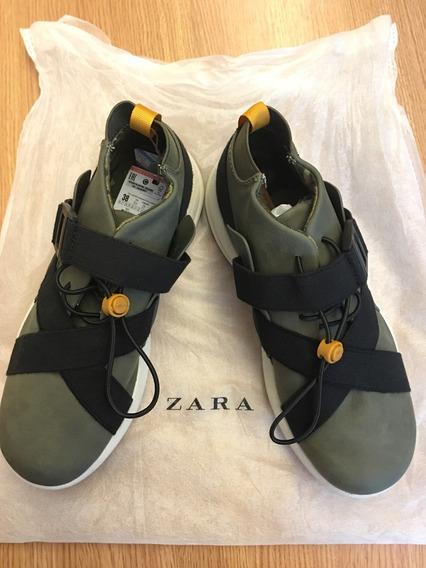 Bota Tênis Zara Infantil Tam 36