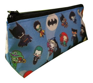 Cartuchera Triangular De Batman Harley Quinn Joker Dc