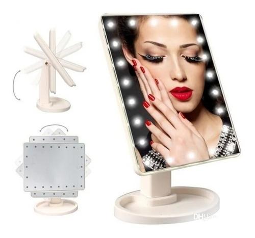 Espejo De Maquillaje Luces Led - Unidad a $38950