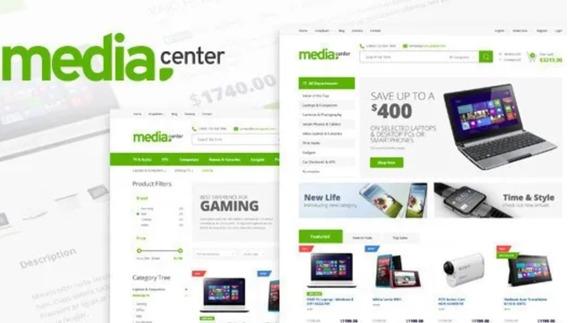Tema Wordpress - Mediacenter Electronics Store Woocommerce