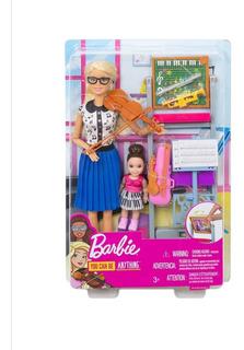 Barbie Muñeca Y Juego Para Profesor De Música Mattel Origina