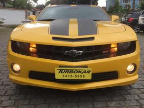 Camaro 2011 Ss V8 Amarelo Toplinha+multimidia 40.000kms Novo