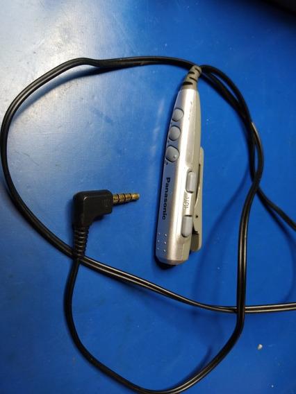 Controle Fone De Ouvido Md Panasonic