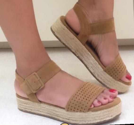 Sandalia Salto Rasteiro