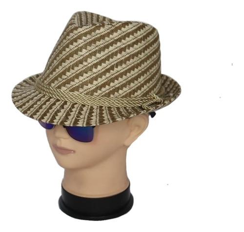 Sombreros Fedora Tejido Colores Surtidos Unisex