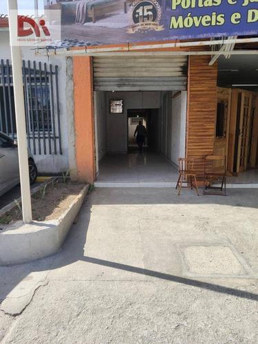 Imagem 1 de 7 de Ponto Para Alugar, 50 M² Por R$ 2.000,00/mês - Vila São Geraldo - Taubaté/sp - Pt0008