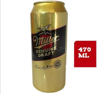 Caja 24 Cervezas Miller 470 Ml