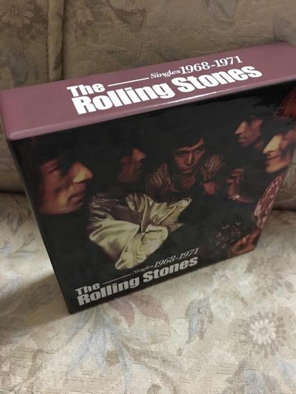 The Rolling Stones Box 9 Singles 1968-1971 -cds Bônus Dvd