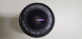 Lente Sigma Nikon Aspherical 24 - 70 Mm D 1:3.5 - 5.6 Uc