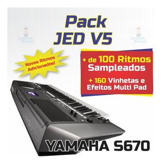 Pack Jed V5.9 + Ritmos (atuais) + Vinhetas MultiPad S670