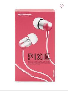 Audiofonos Earbuds Original Pixie Manos Libre Con Microphono