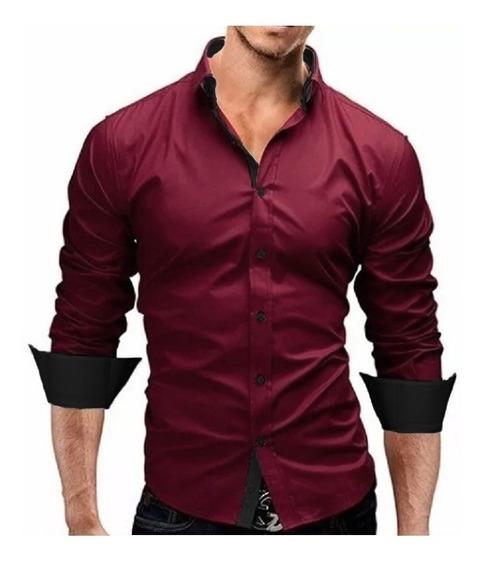Camisa Social Slim Fit Masculina Qualidade 1a. Linha!