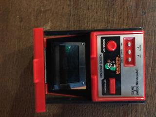 Nintendo Marios 1983 Antiguo A Color Game & Watch