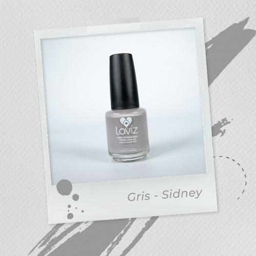 Gris - Sidney | Esmalte De Larga Duración De 15ml