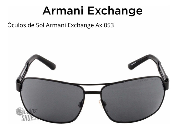 Oculos Armani Exchange Ax053/s 100% Original Na Caixa