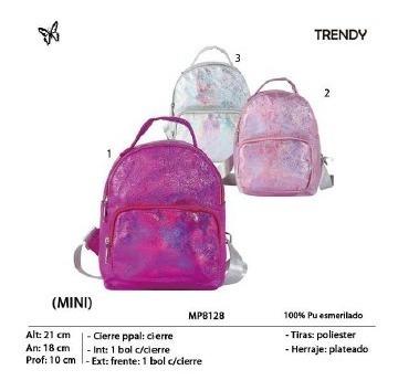 Mini Mochila Trendy 8128
