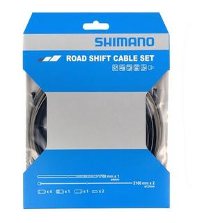 Kit De Cables De Cambio C/forro Fundas Shimano Original
