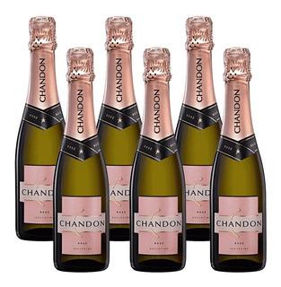 Champagne Chandon Rosado Caja De 6 Botellas