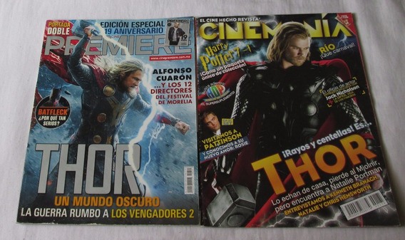 Thor En Revistas Cinemania, Cine Premiere
