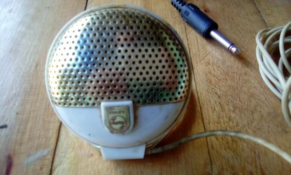 Microfone Philips El 3750/00 Antigo Gravador