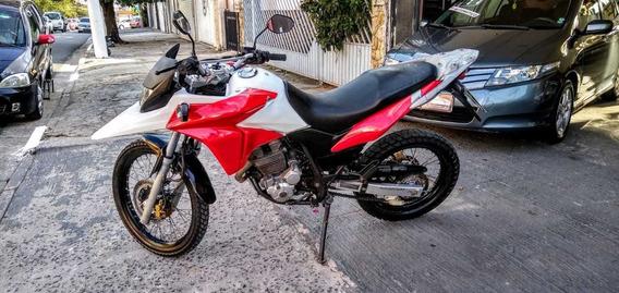 Honda Xre 300 Branca Com Os Kits Vermelhos 2014 Flex