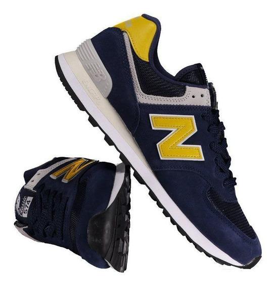 Tênis New Balance 574 Marinho