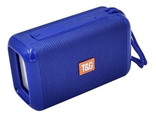Parlante Portable Bluetooth Radio Fm Usb Sd Altavoz Tg-163
