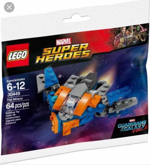 Lego Super Heroes 30449 Nave Milano 64 Piezas Nuevo!!