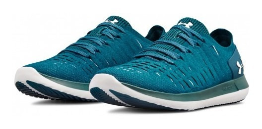 Tenis Under Armour 3 020326 401 Techno Teal/techno Teal/whit