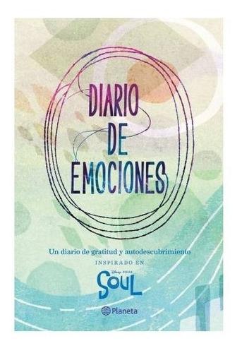 Imagen 1 de 2 de Libro Soul . Diario De Emociones Disney