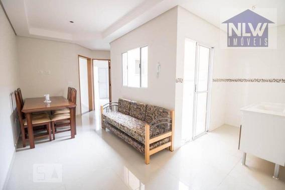Apartamento Com 2 Dormitórios À Venda, 38 M² Por R$ 205.000,00 - Cidade São Jorge - Santo André/sp - Ap1365