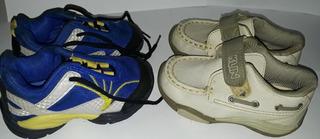 Kit 2 Tênis Infantil Marcas Klin Original (usado)cód. 15