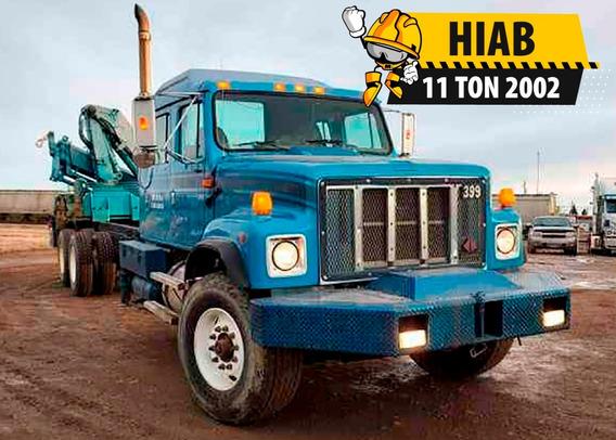International - Grua Articulada Hiab 11 Tons 2002